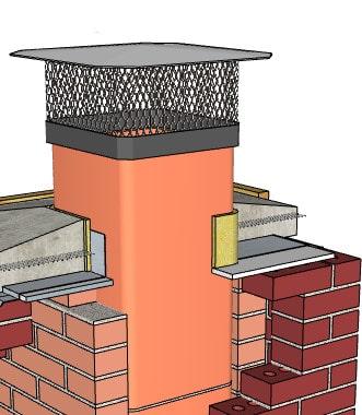 Chimney Sweep Top Flue Tile